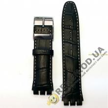 Ремешок для часов SWATCH 19 мм, чёрный