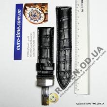 Кожаный ремешок с клипсой, 24 мм