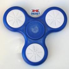 Спиннер светящийся 930-4 синего цвета