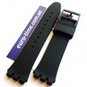 Ремешок 17 мм для часов swatch sw17-19