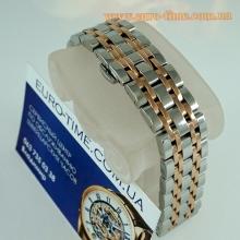 Премиум браслет для наручных часов - комби с розовым золотом