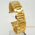 Премиум браслет для наручных часов - золото