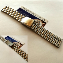 Стальной браслет для мужских часов, 22 мм