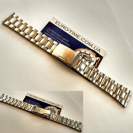 Стальной браслет для мужских часов, 18 мм