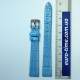 Ремешок для наручных часов, голубой, для женских часов, 12 мм