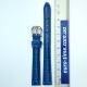 Ремешок для часов, синий, размер 12 мм
