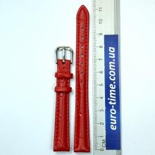 Ремешок для часов, красный, размер 12 мм
