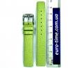 Салатовый ремешок для женских часов, 14 мм