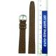 Коричневый ремешок для женских часов, 14 мм