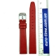 Красный ремешок для женских часов, 14 мм