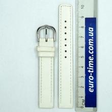Белый ремешок для женских часов, 14 мм