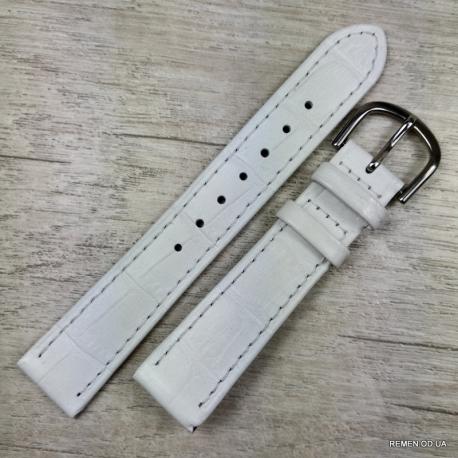 Белый ремешок для женских часов, festina 16 мм