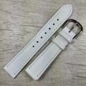 Белый кожаный ремешок для часов, festina 17 мм