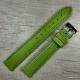 Салатовый ремешок для женских часов, 16 мм
