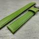 Зелёный ремешок для женских часов, 16 мм