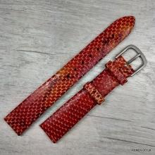 Ремешок для женских часов, змея, 16 мм