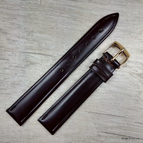 Коричневый ремешок для женских часов, 16 мм
