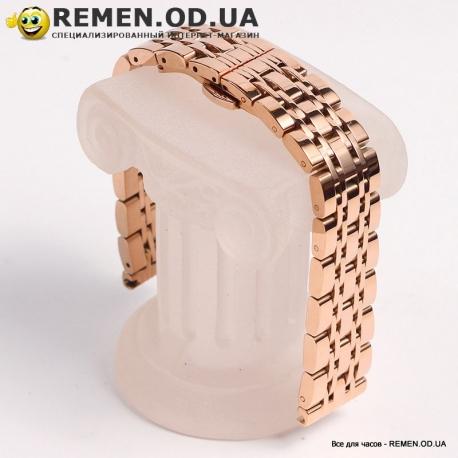 Премиум браслет для наручных часов - розовое золото