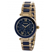 Женские Керамические Часы в стиле cartier, Guardo s1849-6-RD