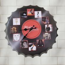 Настенные часы Крышка - 40см