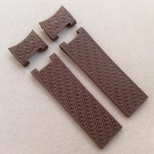 Ремешок каучуковый белого цвета для часов ulysse nardin волна из четырёх деталей